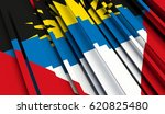fragment flag of antigua and... | Shutterstock . vector #620825480