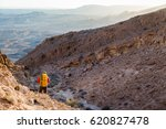 man guy mountaineer standing... | Shutterstock . vector #620827478