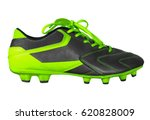 football boots isolated on... | Shutterstock . vector #620828009