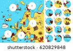 geography visual game  europe.... | Shutterstock .eps vector #620829848