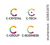 modern c initial logo template  ... | Shutterstock .eps vector #620831870
