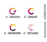 modern c initial logo template  ...   Shutterstock .eps vector #620832203
