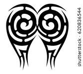 tattoo tribal vector designs....   Shutterstock .eps vector #620836544
