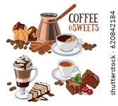 different types of coffee and...