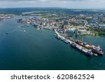 aerial view of the labuan pearl ...   Shutterstock . vector #620862524