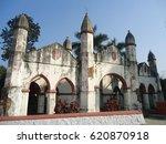 gateway of assam  india. lord... | Shutterstock . vector #620870918