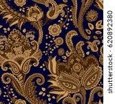 vector vintage seamless pattern.... | Shutterstock .eps vector #620892380