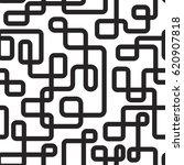 vector seamless pattern.... | Shutterstock .eps vector #620907818