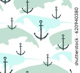 seamless pattern with hand... | Shutterstock .eps vector #620940380