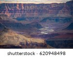 Grand Canyon With Colorado...