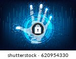 abstract technology concept... | Shutterstock .eps vector #620954330