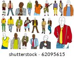 set of high quality vector... | Shutterstock .eps vector #62095615