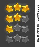 icons of stars  design elements ...