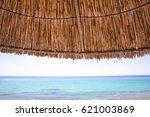 Beach And Sun Straw Umbrella O...