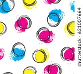 vector colorful seamless... | Shutterstock .eps vector #621007664