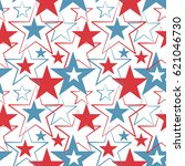 happy memorial day usa  a... | Shutterstock .eps vector #621046730