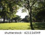 public park in the city   Shutterstock . vector #621116549