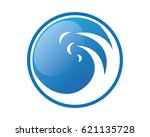 waters wave sea logos | Shutterstock .eps vector #621135728