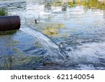 danger of contamination of the... | Shutterstock . vector #621140054