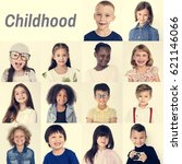 people set of diversity... | Shutterstock . vector #621146066