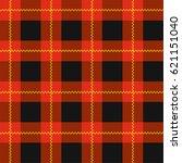 lumberjack plaid pattern. red... | Shutterstock .eps vector #621151040