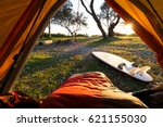 morning point of view from a... | Shutterstock . vector #621155030