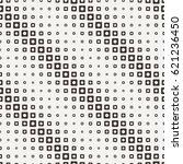 seamless halftone square... | Shutterstock . vector #621236450