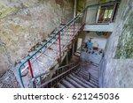 interior of preschool in former ... | Shutterstock . vector #621245036