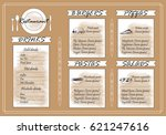 placemat design template vector ...   Shutterstock .eps vector #621247616