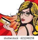 pretty beautiful young women...   Shutterstock .eps vector #621248258