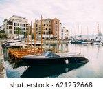 district porto montenegro ... | Shutterstock . vector #621252668