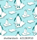 seamless pattern with hand... | Shutterstock .eps vector #621283910