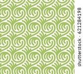 vector seamless pattern.... | Shutterstock .eps vector #621284198