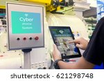 industry 4.0 cyber physical... | Shutterstock . vector #621298748