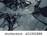 abstract 3d rendering of... | Shutterstock . vector #621302888