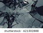 abstract 3d rendering of... | Shutterstock . vector #621302888