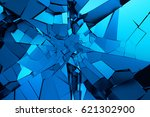 abstract 3d rendering of... | Shutterstock . vector #621302900