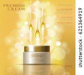 Golden Oil Cosmetic Cream Skin...