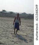 forest man of india  jadav... | Shutterstock . vector #621368249