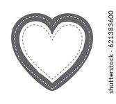 Monochrome Silhouette Heart...