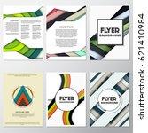 fresh fashion flyer style... | Shutterstock .eps vector #621410984
