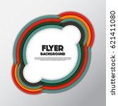fresh fashion flyer style... | Shutterstock .eps vector #621411080