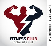 fitness vector logo design