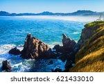 northern california coast... | Shutterstock . vector #621433010