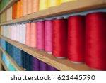 Multicolored Cotton Threads Fo...
