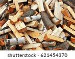 Collapsed Log Wood  Damage...