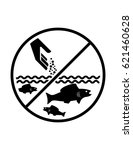 do not feed fish vector sign... | Shutterstock .eps vector #621460628