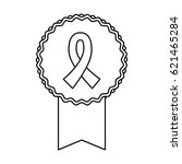 breast cancer campaign symbol | Shutterstock .eps vector #621465284