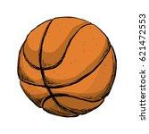 basketball ball game   Shutterstock .eps vector #621472553