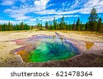 Geysers. Yellowstone National...